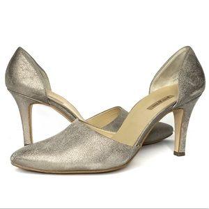 PAUL GREEN Julia D'Orsay Metallic Leather Heel  10